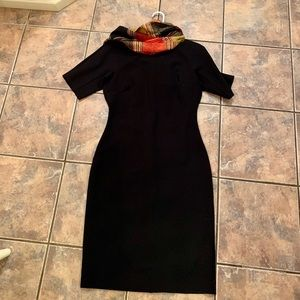 NWT And Taylor classic black dress